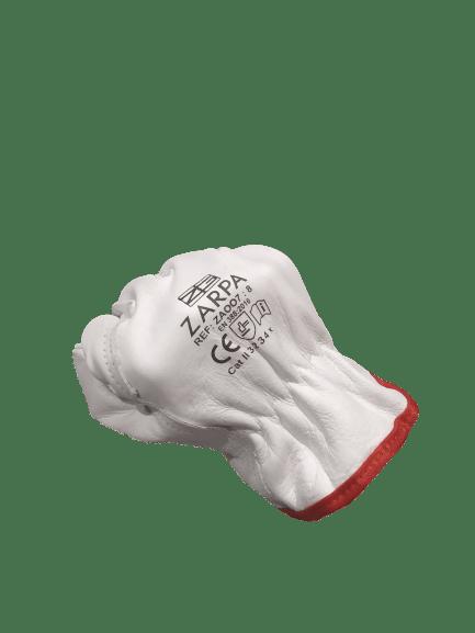 Guante de cuero piel flor extra ZA007